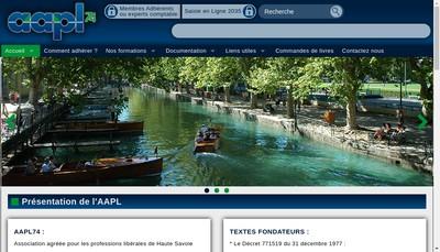 Site internet de Aapl 74