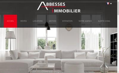 Site internet de Abbesses Immobilier