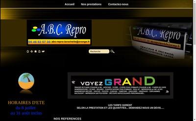 Site internet de Abc Repro