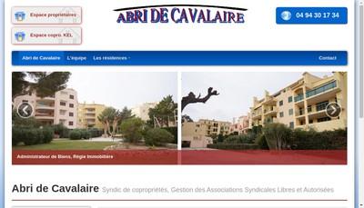 Site internet de Abri de Cavalaire
