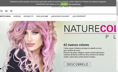 Site internet de Abril et Nature France