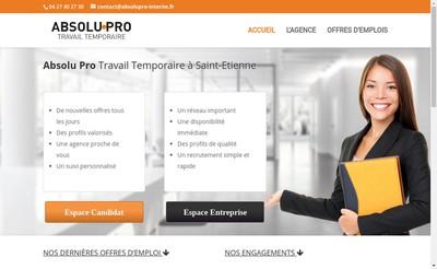 Site internet de Absolu Pro