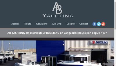 Site internet de AB Yachting