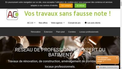 Site internet de Franck Begon