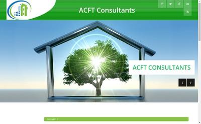 Site internet de Acft Consultants
