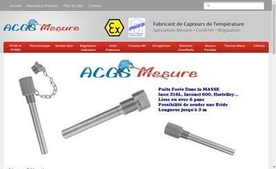 Site internet de ACGS Mesure