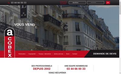 Site internet de Acobex