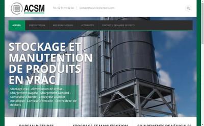 Site internet de Acsm