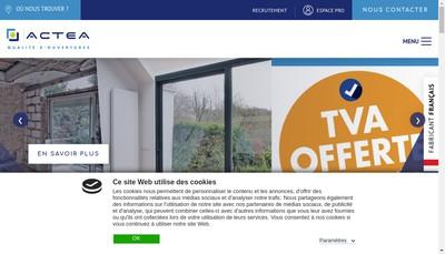 Site internet de Actea
