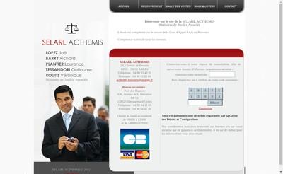 Site internet de Acthemis