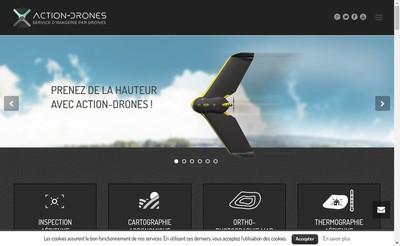 Site internet de Action-Drones