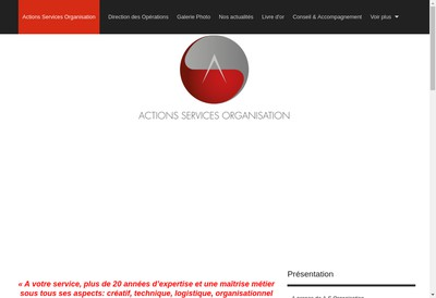 Site internet de AS Organisation