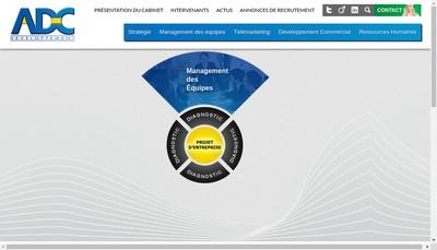 Site internet de Adc Developpement