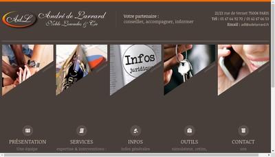 Site internet de A de Larrard N Lowndes Cie
