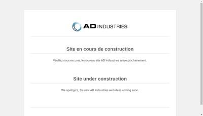 Site internet de Ad Industries