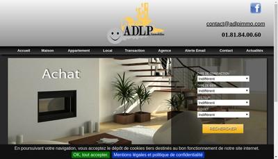 Site internet de ADLP