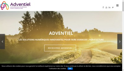 Site internet de Association Adventiel