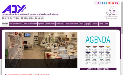 Site internet de Ady Toulouse