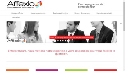 Site internet de Affexio Group