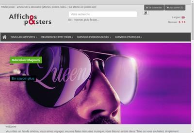 Site internet de Affiches et Posters