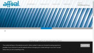 Site internet de Affival