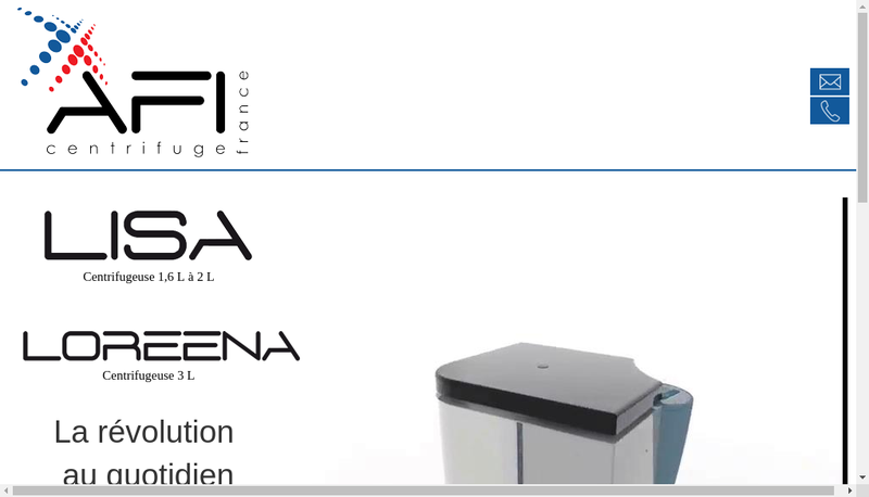 Site internet de Awel Industries