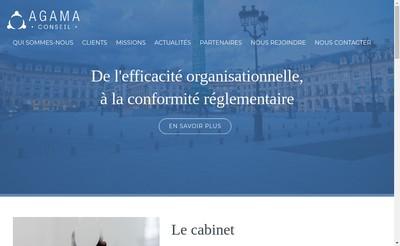 Site internet de Agama Conseil