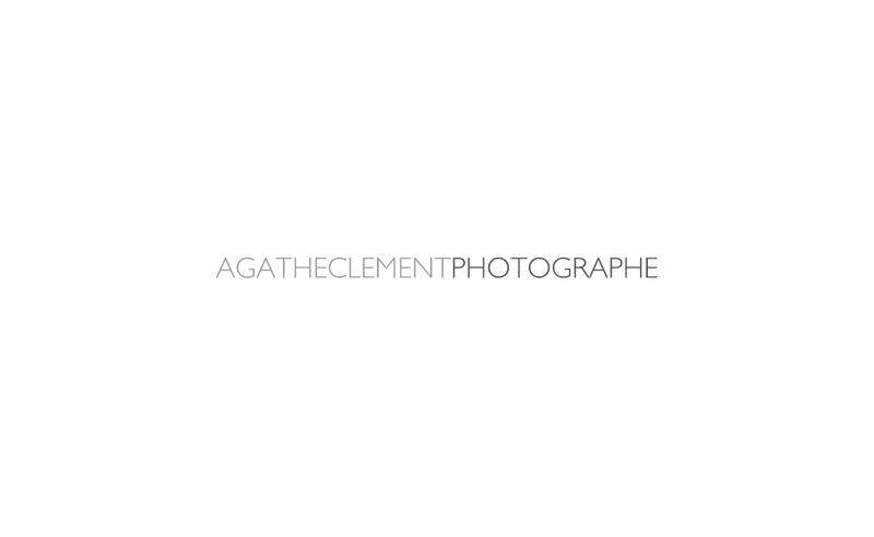 Capture d'écran du site de Agathe Leveque Photographe