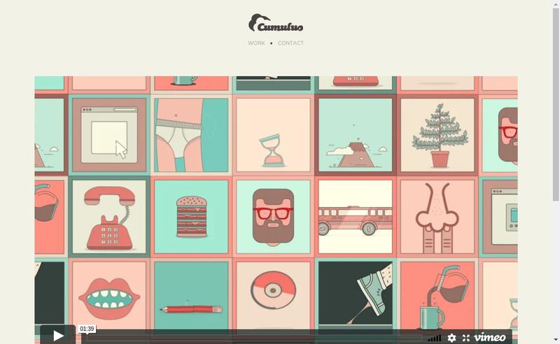 Capture d'écran du site de Cumulus