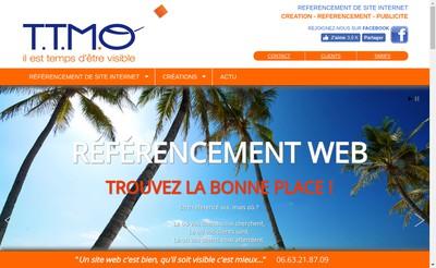 Site internet de Agence Ttmo