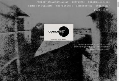 Site internet de Agence 1827