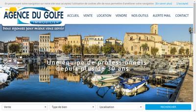 Site internet de Agence du Golfe