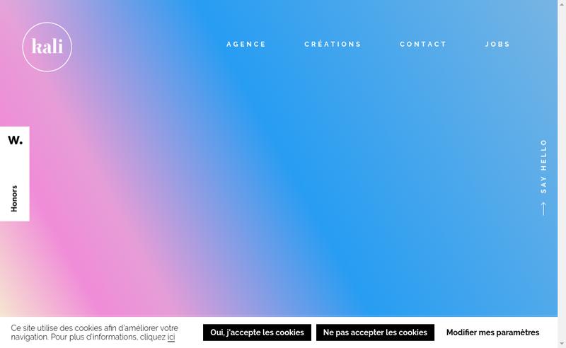 Site internet de Morad & Julien
