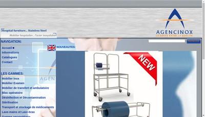 Site internet de Agencinox