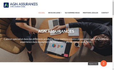 Site internet de Agn Assurances