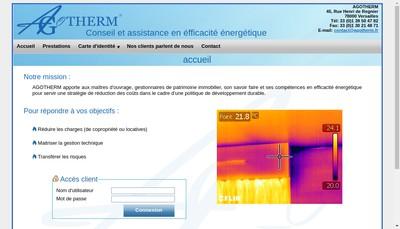 Site internet de Agotherm