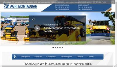 Site internet de Agri Montauban