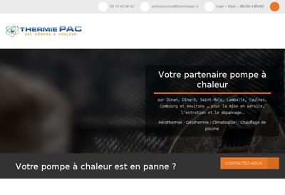 Capture d'écran du site de Agrogaz des Pays de Trie