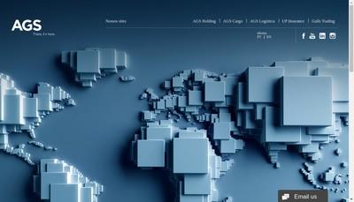Site internet de Ags Holding