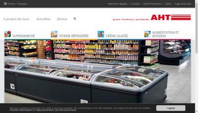 Site internet de Aht Cooling Systems France