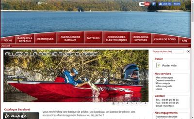 Site internet de SARL l'Aigle Pecheur