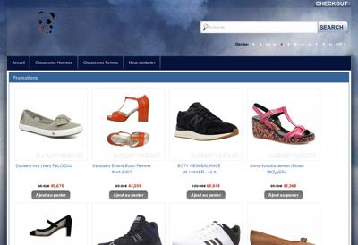 Capture d'écran du site de Ain Bati Nature