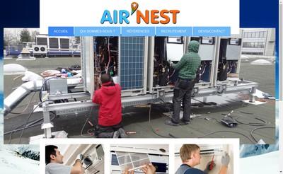 Site internet de Air'Nest