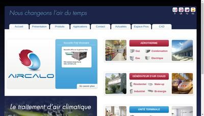 Site internet de Aircalo Group