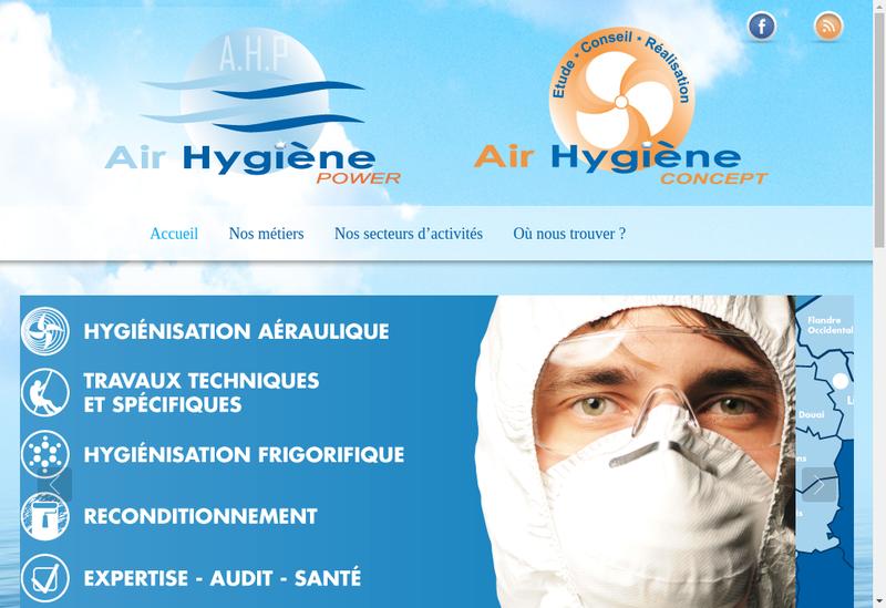 Site internet de Air Hygiene Power
