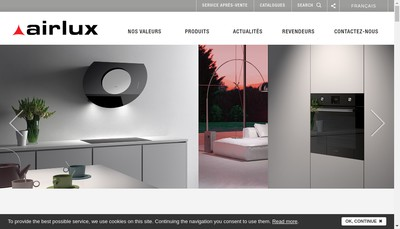 Site internet de Airlux SA