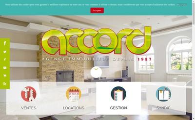 Site internet de Accord