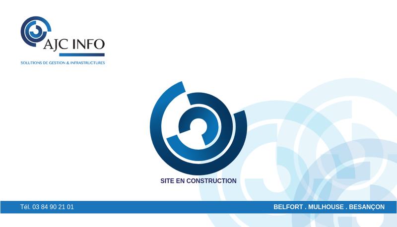 Capture d'écran du site de Ajc Info