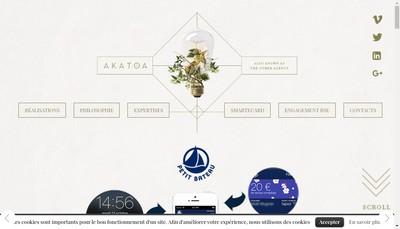 Site internet de Akatoa