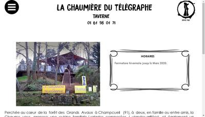 Site internet de La Chaumiere du Telegraphe
